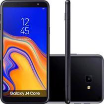 """Smartphone Samsung Galaxy J4 Core 16GB Preto 4G - Quad-Core 1GB RAM 6"""" Câm. 8MP + Câm. Selfie 5MP -"""