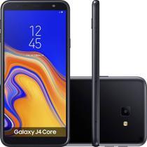 Smartphone Samsung Galaxy J4 Core Tela infinita de 6 Câmera Traseira 8MP 16GB Dual Chip - Preto -