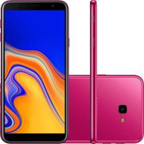 Smartphone Samsung Galaxy J4+, Dual Chip, 32GB, Android 8.1, 13MP, 4G - Rosa