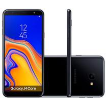 Smartphone Samsung Galaxy J4 Dual Chip Android 8.1 Tela 6 Quad-Core 1.4GHz 16GB 4G Câmera 5MP -