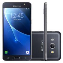 "Smartphone Samsung Galaxy J5 Metal 16GB Dual Chip 4G Tela 5,2"" Câmera 13MP Selfie 5MP Android 6.0 Preto -"