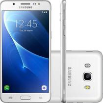 "Smartphone Samsung Galaxy J5 Metal Dual Chip Android 6.0 Tela 5.2"" 16GB 4G Câmera 13MP Branco -"