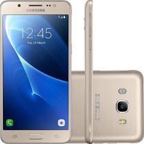 "Smartphone Samsung Galaxy J5 Metal Dual Chip Android 6.0 Tela 5.2"" 16GB 4G Câmera 13MP Dourado -"