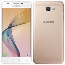"Smartphone Samsung Galaxy J5 Prime, 5"", 4G, Android 6.0.1, 13MP, 32GB - Dourado -"