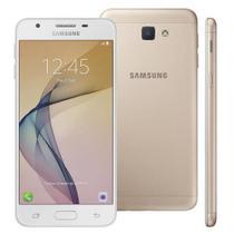 Smartphone Samsung Galaxy J5 Prime Dual Chip Android 6.0 Tela 5 Quad-Core 1.4 GHz 32GB 4G Wi-Fi Câmera 13MP com Leitor de Digital - Dourado -