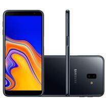 "Smartphone Samsung Galaxy J6+ 32GB Dual 6"" 13MP + 5MP - Preto -"
