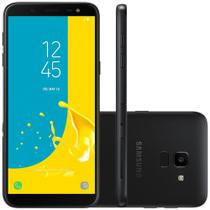 Smartphone Samsung Galaxy J6 32GB Dual Chip 4G Tela 5.6 Câmera 13MP TV Digital Android 8.0 Preto