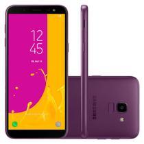 "Smartphone Samsung Galaxy J6 32GB Dual Chip Tela 5.6"" Câmera 13MP TV Digital Android 8.0 Violeta -"