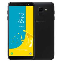 Smartphone Samsung Galaxy J6 32GB Preto- Dual Chip 4G Câm. 13MP + Selfie 8MP Flash