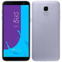 "Smartphone Samsung Galaxy J6, 5.6"", 4G, Android 8.0, 13MP, 32GB - Prata -"