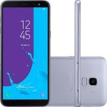 Smartphone Samsung Galaxy J6 64GB Dual 8.0 5.6 13MP - Prata -