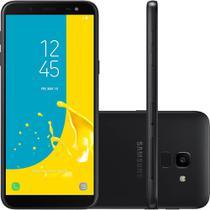 Smartphone Samsung Galaxy J6 64GB Dual 8.0 5.6 13MP - Preto -