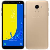 "Smartphone Samsung Galaxy J6, Dual Chip, Dourado, Tela 5.6"", 4G + WiFi, Android 8.0, Câmera 13MP, 32GB -"