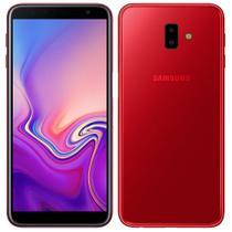 "Smartphone Samsung Galaxy J6+, Dual Chip, Vermelho , Tela 6"", 4G+WiFi, Android 8.1, 13MP+5MP, 32GB -"
