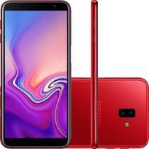 """Smartphone Samsung Galaxy J6 Plus Vermelho 32GB 3GB RAM Tela infinita de 6"""" Dual Câmera 13MP 5MP -"""