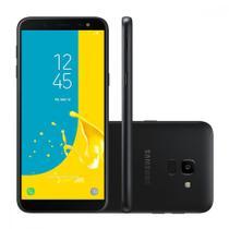 Smartphone Samsung Galaxy J6 SM-J600GZKBZTO 32GB Tela 5.6 Câmera 13MP Selfie 8MP Android 8.0 -