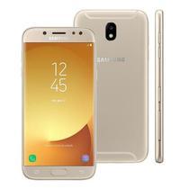 "Smartphone Samsung Galaxy J7 Pro 64GB Dourado Android 7.0 Tela 5.5"" Octa-Core 4G Wi-Fi Câmera 13MP -"