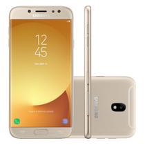 Smartphone Samsung Galaxy J7 Pro J730G Preto Dourado -