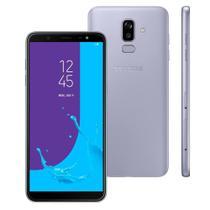 "Smartphone Samsung Galaxy J8, 4GB, 16MP, Dual Chip, Android 8.0, 64GB, Tela Infinita de 6,0"" - Prata -"