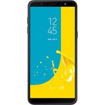 "Smartphone Samsung Galaxy J8, Android 8.0, 64GB, 4GB, 6.0"", 16MP, Dual Chip, Wifi, 4G - Preto -"