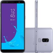 Smartphone Samsung Galaxy J8 Prata 64GB Câmera Dupla 16MP+5MP 4G SM-J810MZVKZTO -