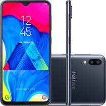 "Smartphone Samsung Galaxy M10 16GB Dual Chip Android 8.1 Tela 6,2"" Octa-Core 4G Câmera 13+5MP - Preto -"