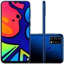 Smartphone Samsung Galaxy M21s Camera Tripla 64MP Azul 64GB 4GB RAM -