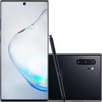 """Smartphone Samsung Galaxy Note 10+ 256GB 12GB RAM Câmera Traseira Quádrupla Tela 6.8"""" Preto -"""