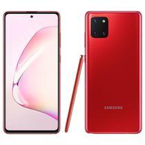 "Smartphone Samsung Galaxy Note 10 Lite, Vermelho , Tela 6.7"", Câm 12+12+12MP e Frontal 32MP, 128GB -"