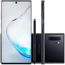 """Smartphone Samsung Galaxy Note 10 Plus Preto 256GB 12GB RAM Tela de 6,8"""" Câmera Traseira Quádrupla -"""