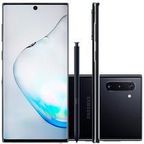"""Smartphone Samsung Galaxy Note 10 Preto 256GB 8GB RAM Tela de 6,4"""" Câmera Traseira Tripla -"""