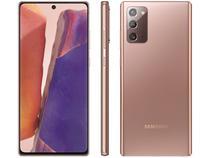"Smartphone Samsung Galaxy Note 20 256GB Mystic - Bronze 8GB RAM Tela 6,7"" Câm. Tripla + Selfie 10MP"
