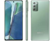 Smartphone Samsung Galaxy Note 20 256GB Mystic - Green 8GB RAM Tela 6,7 Câm. Tripla + Selfie 10MP -