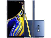 "Smartphone Samsung Galaxy Note 9 128GB Azul 4G - 6GB RAM Tela 6,4"" Câm. 12MP + 12 MP + Selfie 8MP"