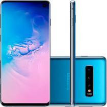 Smartphone Samsung Galaxy S10 128GB Câmera Tripla 12MP 16MP 12MP Frontal 10MP Android 10 Azul -