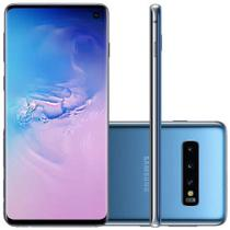 Smartphone Samsung Galaxy S10 128GB Tela 6.1 Câmera Tripla Traseira 12MP+12MP+16MP - Azul -
