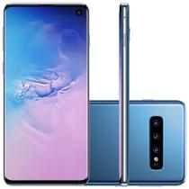 "Smartphone Samsung Galaxy S10, 6.1"", Android 9.0, 16MP, 128GB - Azul -"