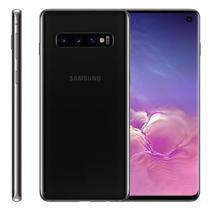 "Smartphone Samsung Galaxy S10, 6,1"", 128GB, Câmera Tripla 12MP + 16MP + 12MP, Preto -"