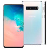 Smartphone Samsung Galaxy S10 G973F 128GB 8GB RAM 16MP Tela 6.1 Branco -