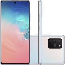 "Smartphone Samsung Galaxy S10 Lite Tela 6,7"" Dual Chip Octa Core Ram 6GB 128GB Câmera 48MP Branco -"