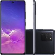 "Smartphone Samsung Galaxy S10 Lite Tela 6,7"" Dual Chip Octa Core Ram 6GB 128GB Câmera 48MP Preto -"
