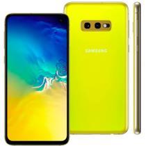 "Smartphone Samsung Galaxy S10e 128GB 5,8"" Câmera Dupla 12MP 16MP Frontal 10MP Android 10 Amarelo -"