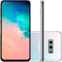 "Smartphone Samsung Galaxy S10e 128GB 5,8"" Câmera Dupla 12MP 16MP Frontal 10MP Android 10 Branco -"