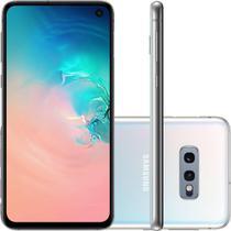 "Smartphone Samsung Galaxy S10e 128GB 6GB Octa 2.7GHz+1.9GHz Android 9.0 PowerShare Tela 5.8"" 12MP+16MP, 10MP Branco -"