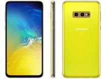 """Smartphone Samsung Galaxy S10e 128GB Amarelo 4G  - 6GB RAM Tela 5,8"""" Câm. Dupla + Selfie 10MP"""