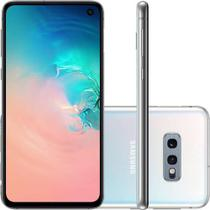 Smartphone Samsung Galaxy S10e 128GB Dual Chip, Tela 5,8 Pol., Octa-Core, Câmera 12MP + 16MP - Branc -