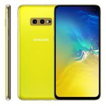"""Smartphone Samsung Galaxy S10E, 5,8"""", 128GB, Câmera Dupla 12MP + 16MP, Amarelo -"""
