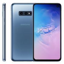 """Smartphone Samsung Galaxy S10E, 5,8"""", 128GB, Câmera Dupla 12MP + 16MP, Azul -"""