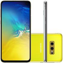 """Smartphone Samsung Galaxy S10e Amarelo 128GB Dual Chip Tela 5,8"""" OctaCore Câmera Traseira Dupla -"""