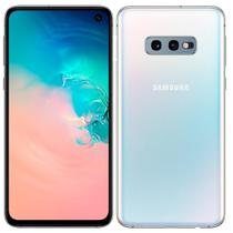 "Smartphone Samsung Galaxy S10e, Dual Chip, 5.8"", 4G, Android 9.0, Camera 12+16MP, 128GB - Branco -"